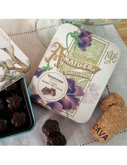Chocolate Amatller Flores al Marc de Cava Lata