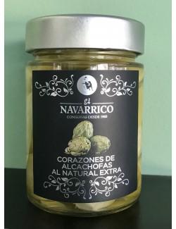 Corazones de Alcachofa al natural extra - El Navarrico