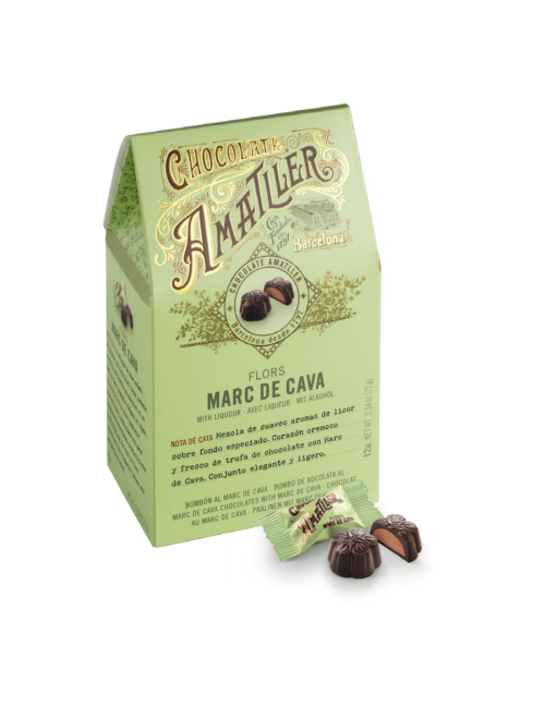 Flores Marc de Cava – Chocolates Amatller