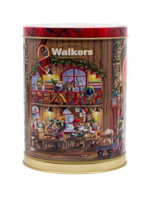 Galletas de Mantequilla Musical Tin Walkers