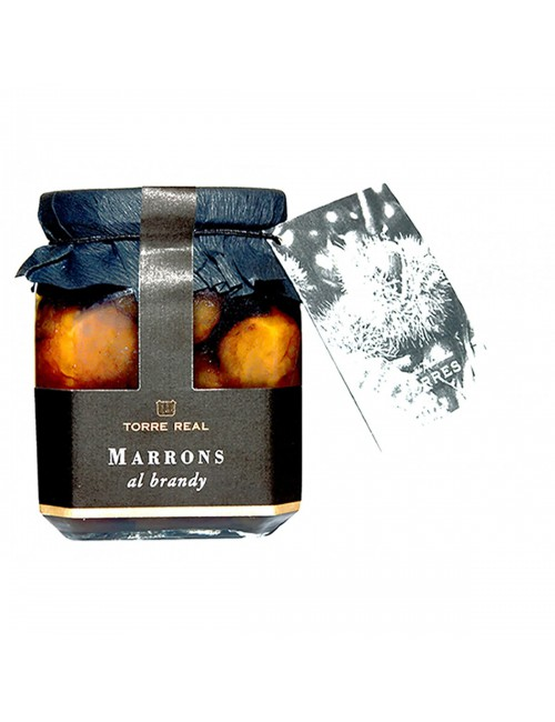 Marrons al Brandy - Torre real