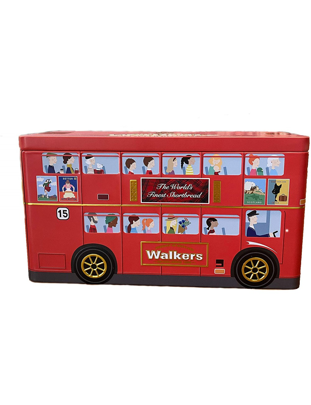 Surtido Galletas Walkers London Bus