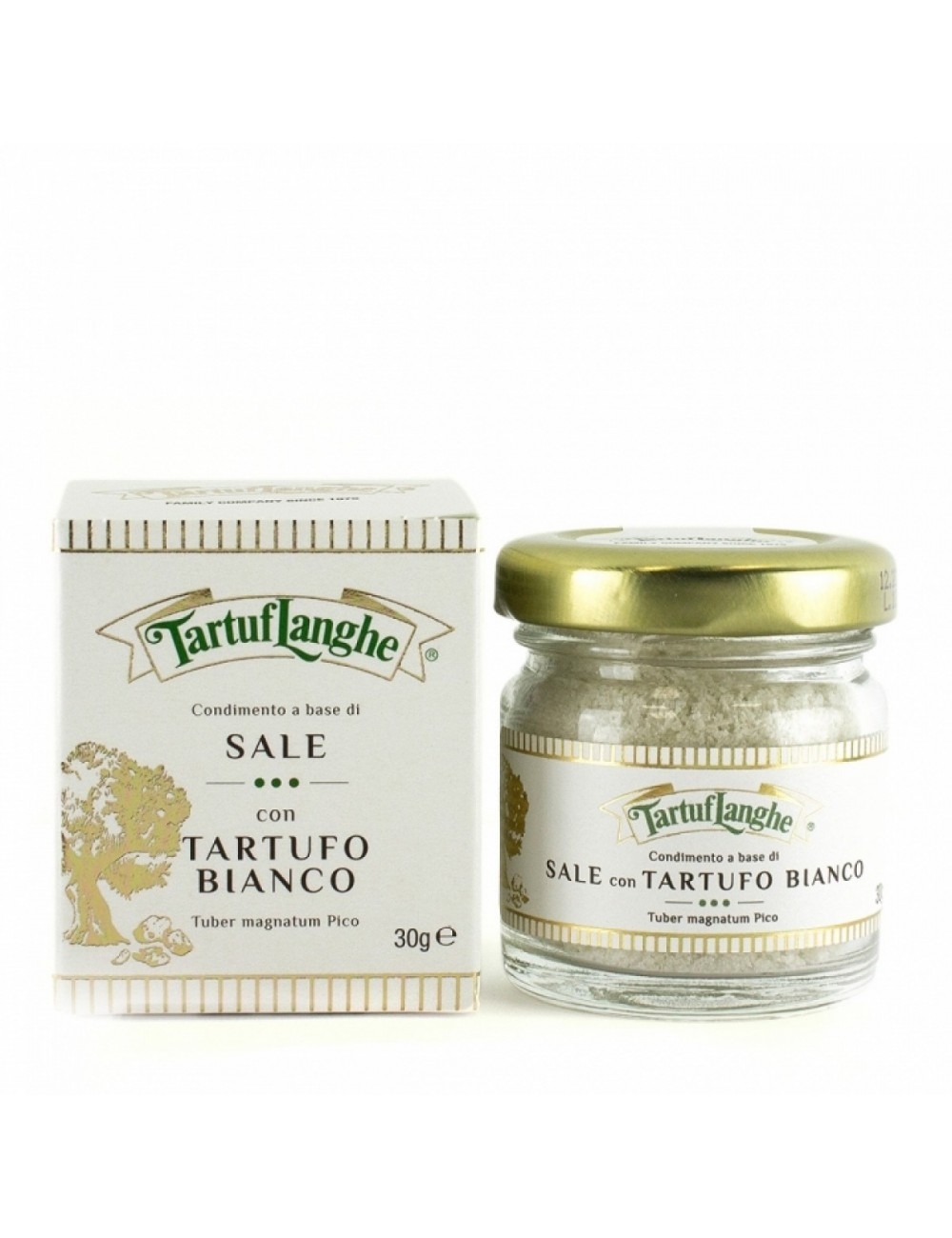 Sal gris de Guérande con Trufa blanca - Tartuflanghe