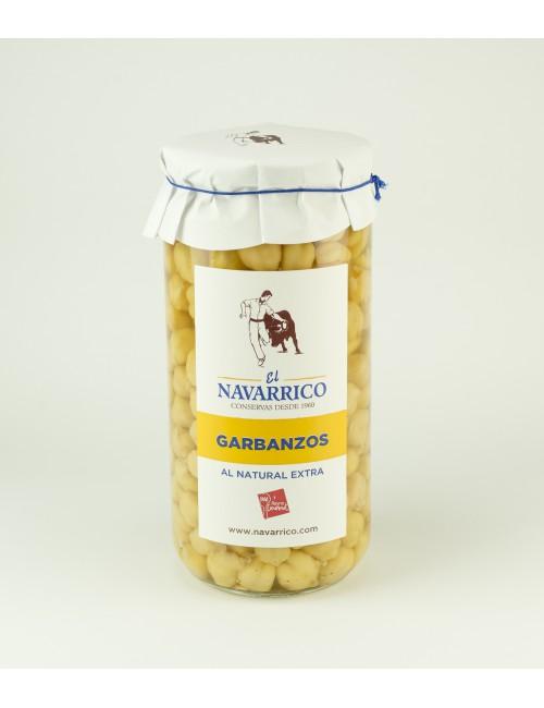 Garbanzos al Natural Extra - El Navarrico