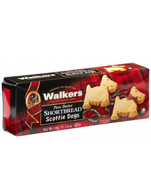 Galletas de mantequilla Scottie Dogs - Walkers