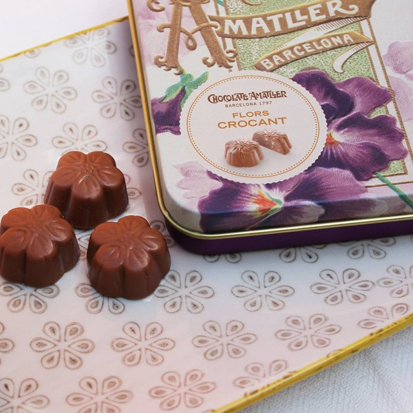 Chocolate Amatller Flores Crocant